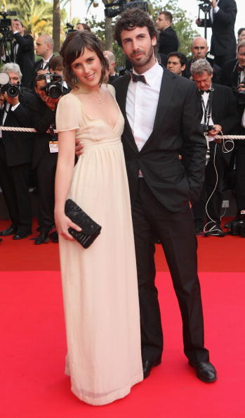 Clementine Poidatz and Guest at the 61st International Cannes Film Festival.