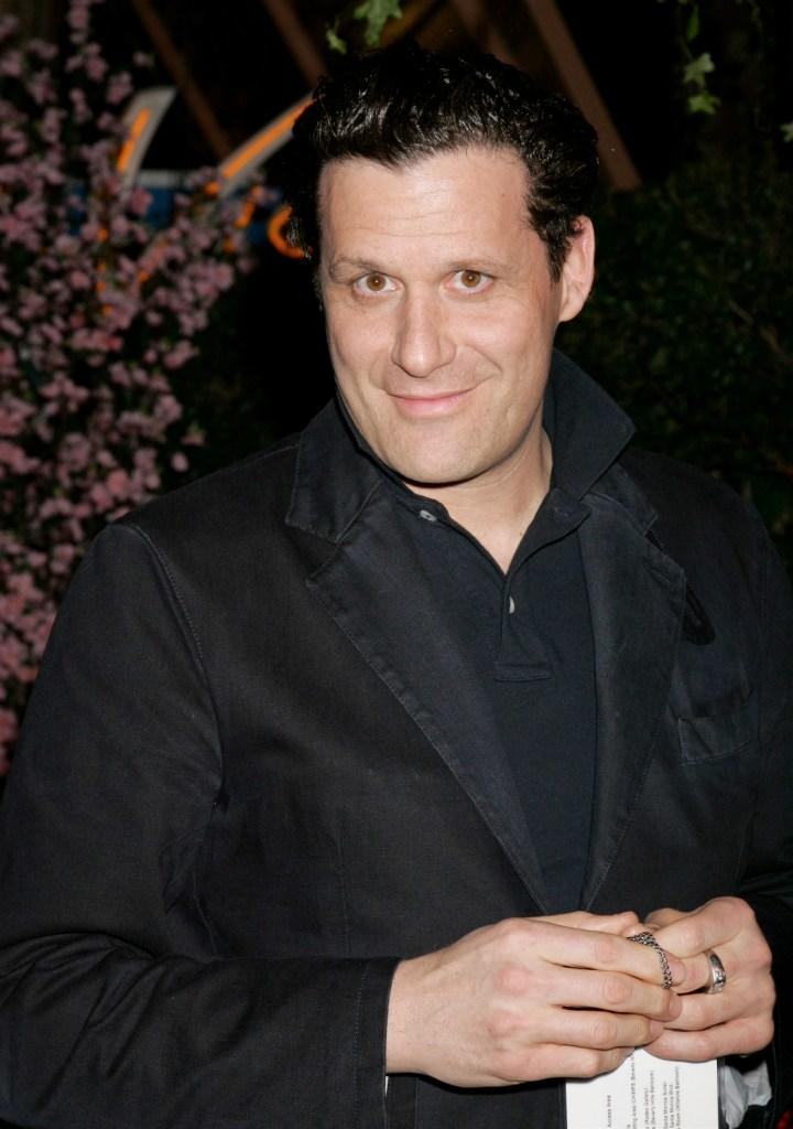 Isaac Mizrahi at the Weinstein Co. Golden Globe after party.