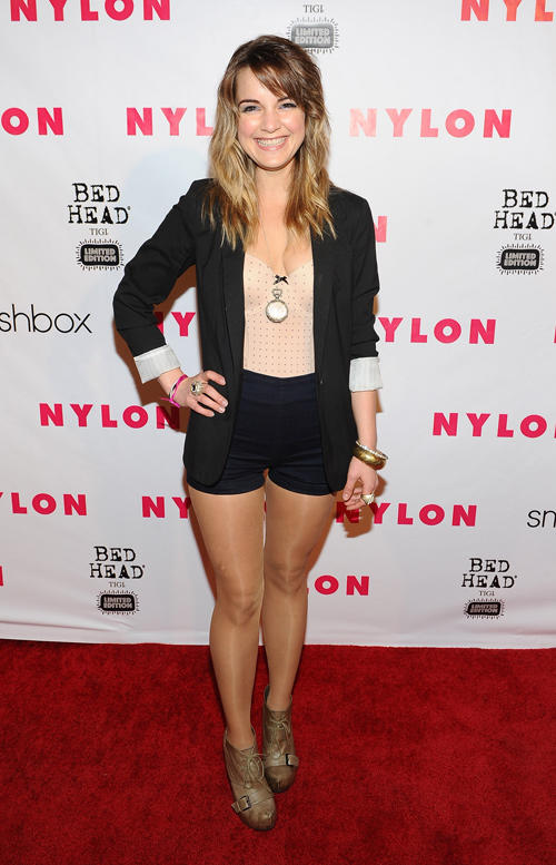 Laura Leigh at the NYLON Magazine 13th Anniversary Celebration.