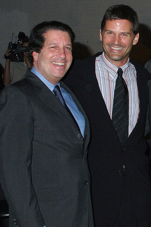 Warner Bros. President Peter Roth and D.W. Moffett at the premiere party of