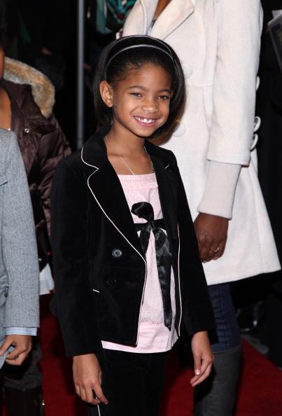 Willow Smith at the N.Y. premiere of