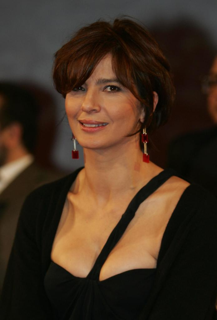 Laura Morante at the opening of the 4th Marrakesh International Film Festival.
