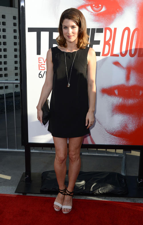 Lucy Griffiths at the California premiere of