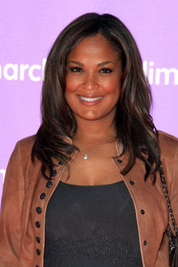 Actress Laila Ali attends the 5th Annual March of Dimes celebration of babies luncheon at The Four Seasons Hotel on November 13, 2010 in Los Angeles, California.