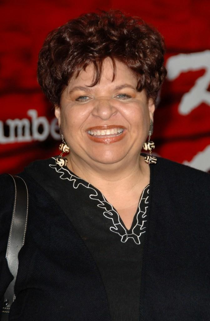Patricia Belcher at the Los Angeles premiere of