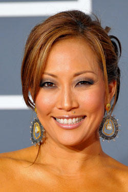 Carrie Ann Inaba arrives at the 52nd Annual GRAMMY Awards held at Staples Center on January 31, 2010 in Los Angeles, California.
