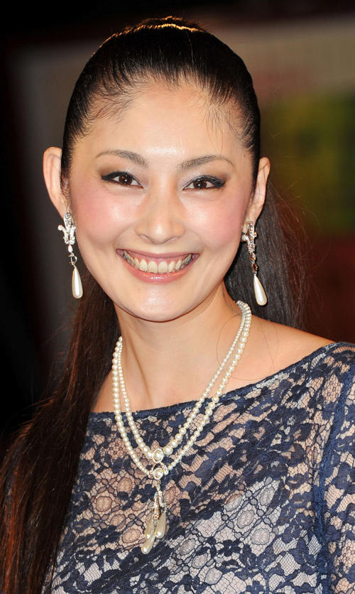 Takako Tokiwa at the premiere of