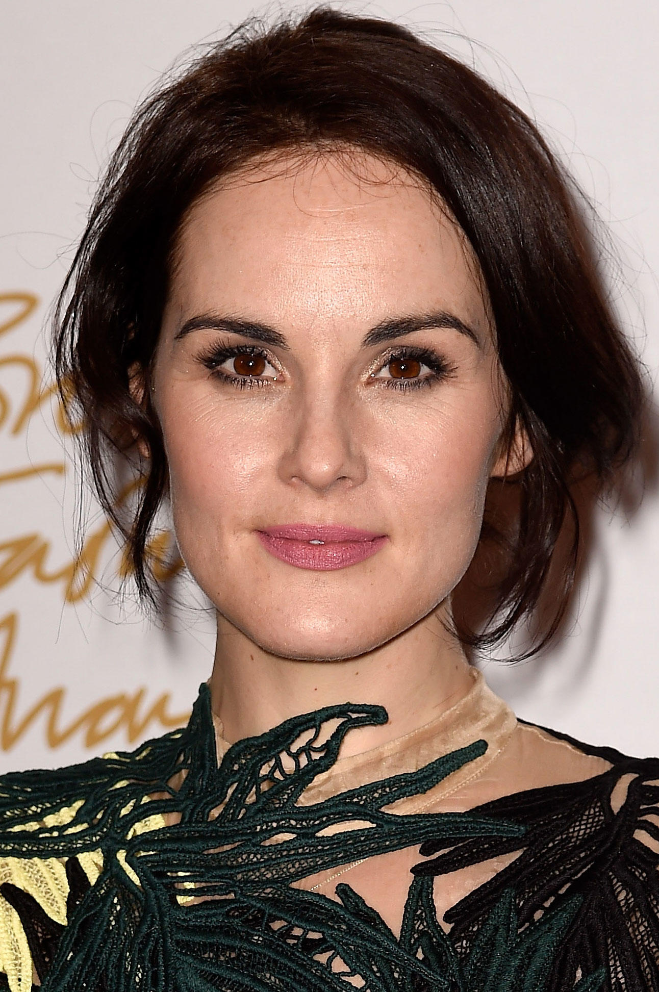 Michelle Dockery at the British Fashion Awards.