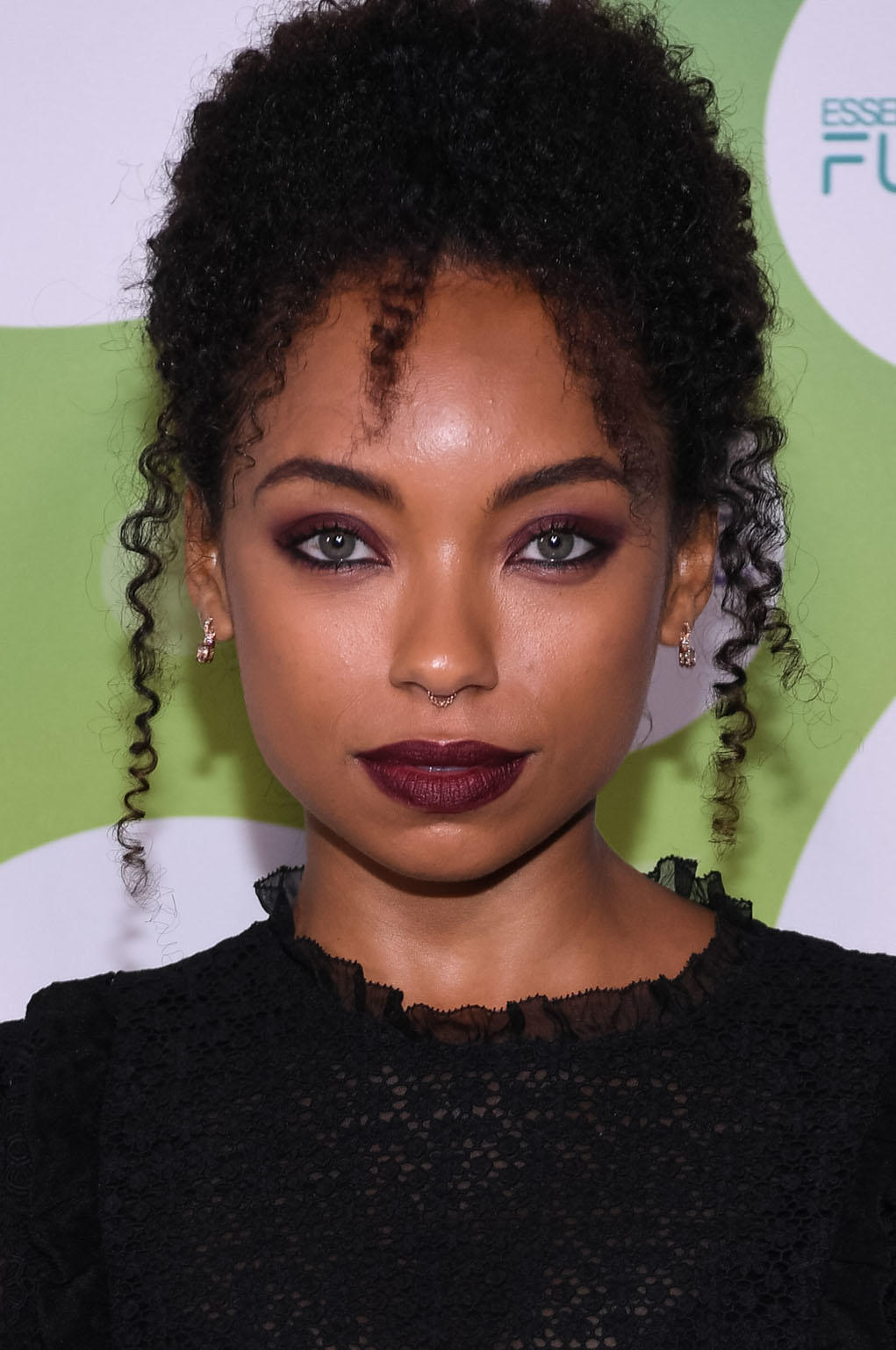 Logan Browning at the Essence & Toyota Future 15 Event in New York City.