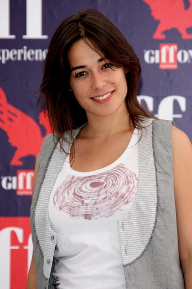 Diane Fleri at the 2009 Giffoni Film Festival.
