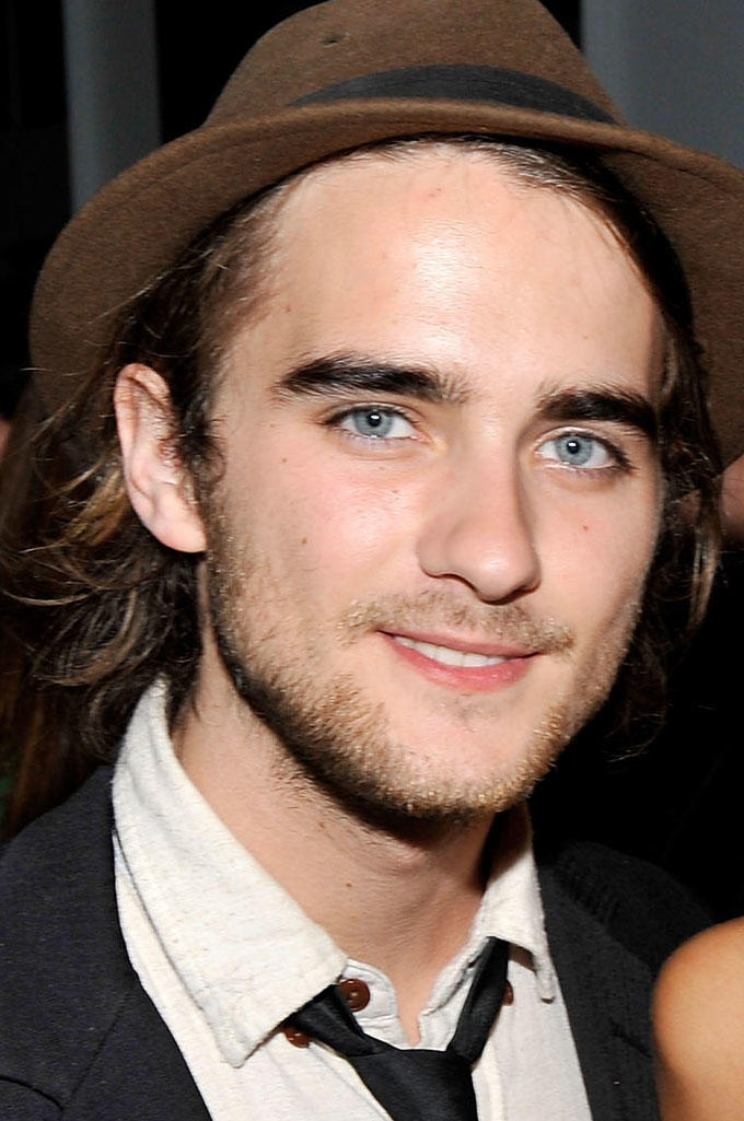 Landon Liboiron at the official party for the cast of