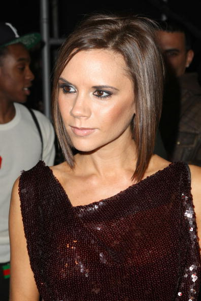 Victoria Beckham at the Marc Jacobs Fall 2008 fashion show during Mercedes-Benz Fashion Week Fall 2008 in N.Y.