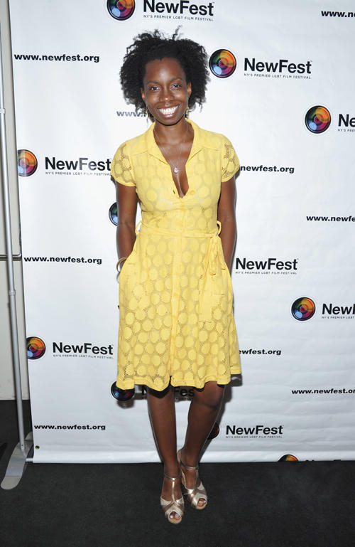 Adepero Oduye at the closing night of the premiere of