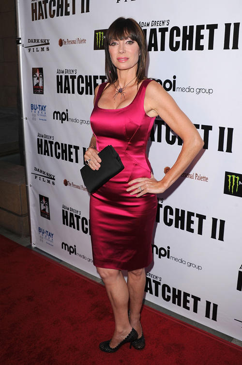 Tanya Newbould at the California premiere of
