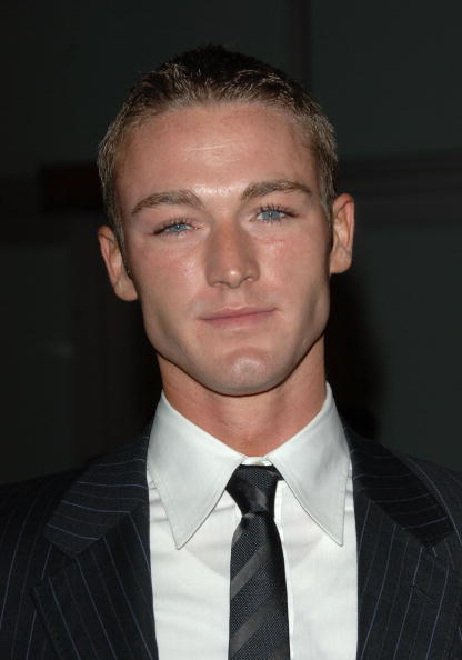 Jake McLaughlin at the L.A. premiere of