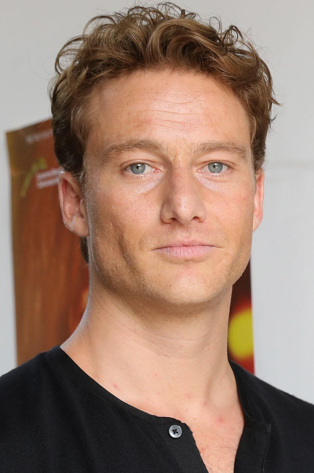 Alexander Fehling at the German Reception during the 70th Locarno Film Festival.