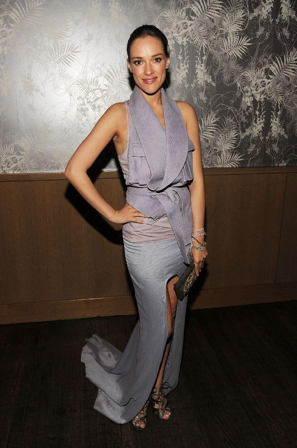 Alicja Bachleda at the after party of the New York premiere of