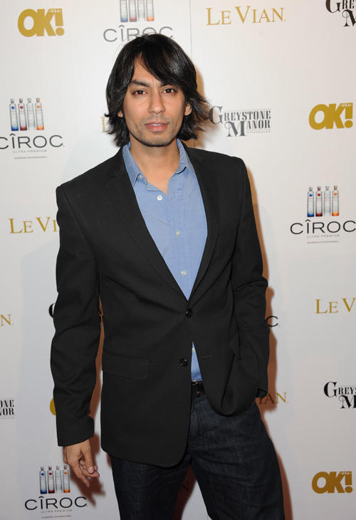 Vik Sahay at the OK! Magazine Pre-Oscar Party in California.