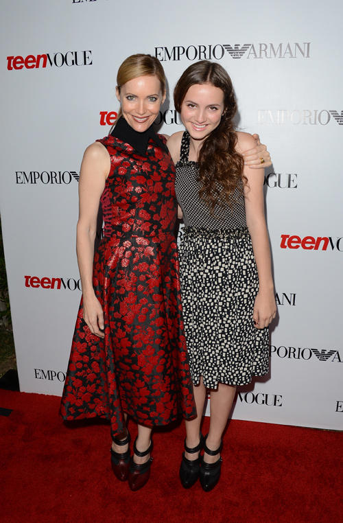Leslie Mann and Maude Apatow at the Teen Vogue's 10th Anniversary young Hollywood party.