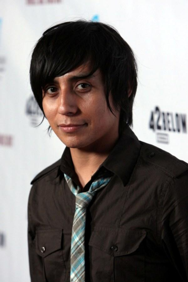 Luis Chavez at the premiere of