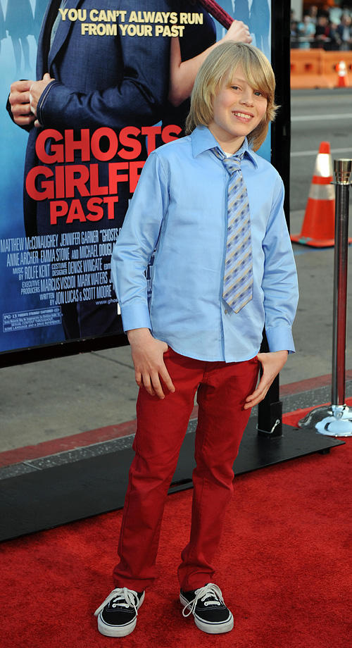 Devin Brochu at the world premiere of