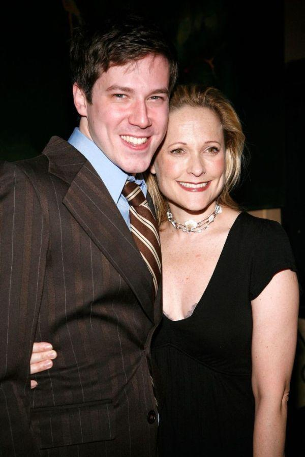 John Gallagher, Jr. and Kate Blumberg at the after party of the premiere of