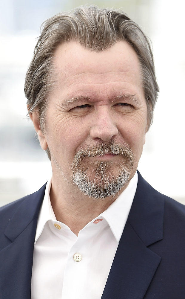 Gary Oldman at the Rendez-Vous with Gary Oldman photocall during the 71st annual Cannes Film Festival.