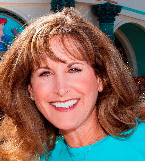 Jodi Benson at the all-new attraction