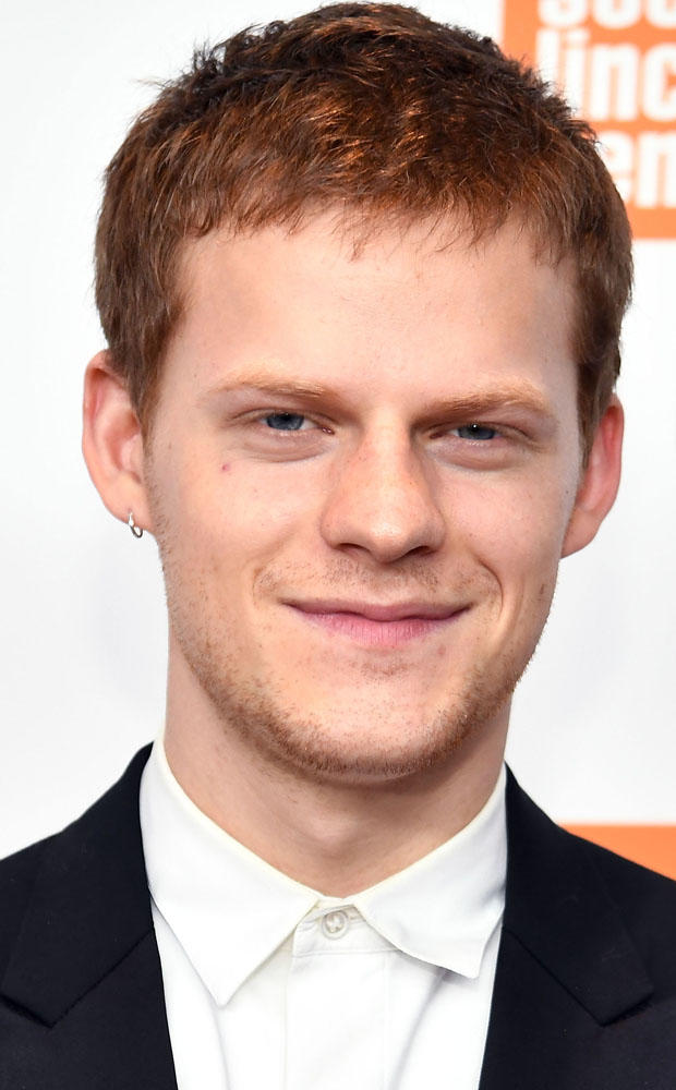 Lucas Hedges at the