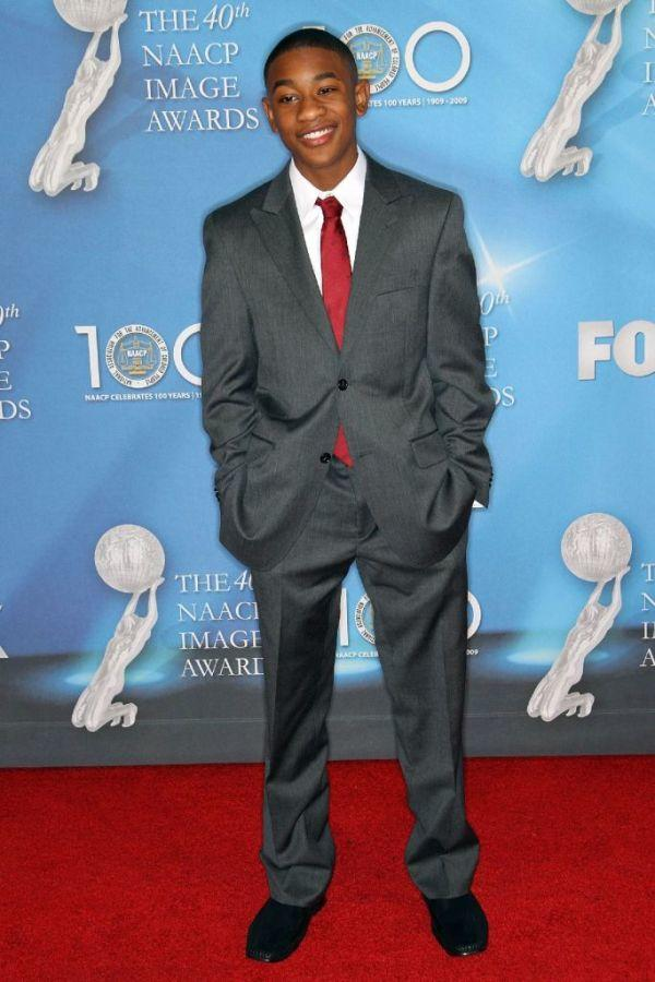 Justin Martin at the 40th NAACP Image Awards.