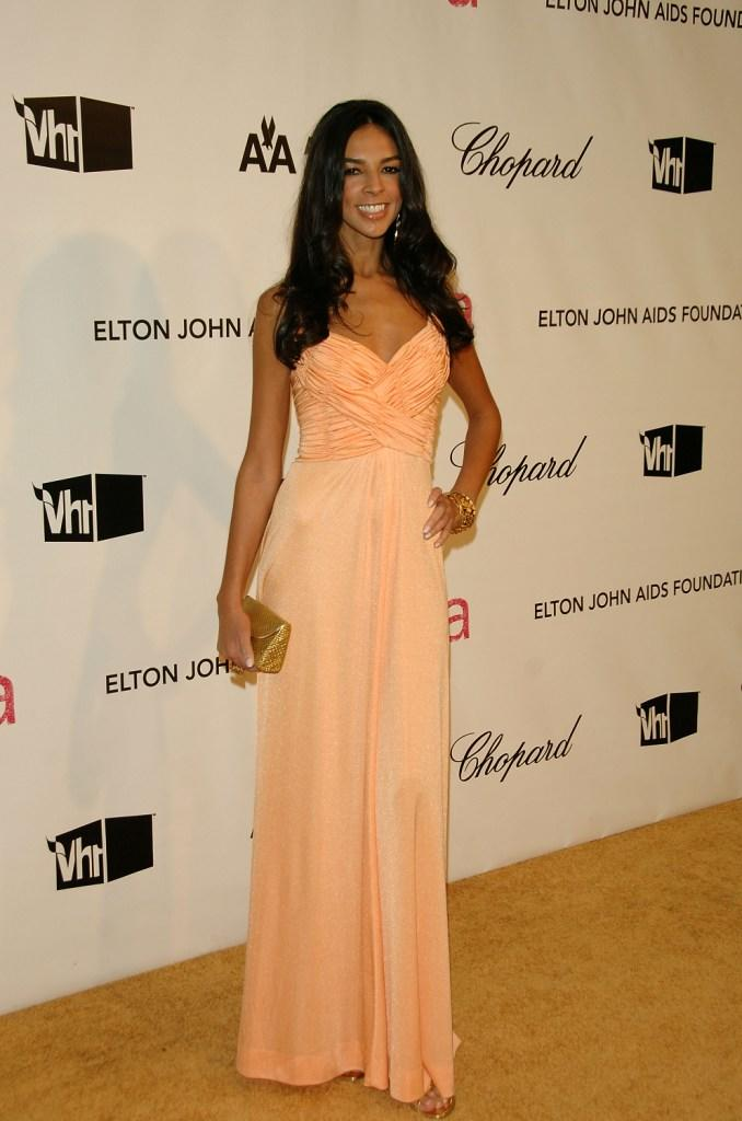 Terri Seymour at the 16th Annual Elton John AIDS Foundation Academy Awards.