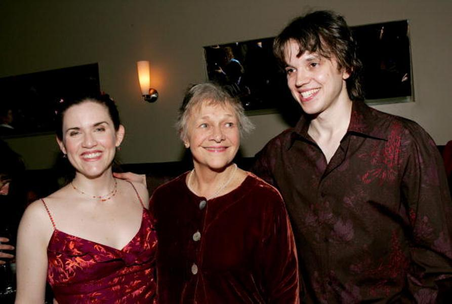 Donna Lynne Champlin, Estelle Parsons and Eric Millegan at the world premiere of