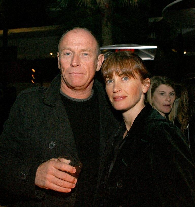 Amanda Pays and Corbin Bersen at the launch party for Craig Ferguson's novel