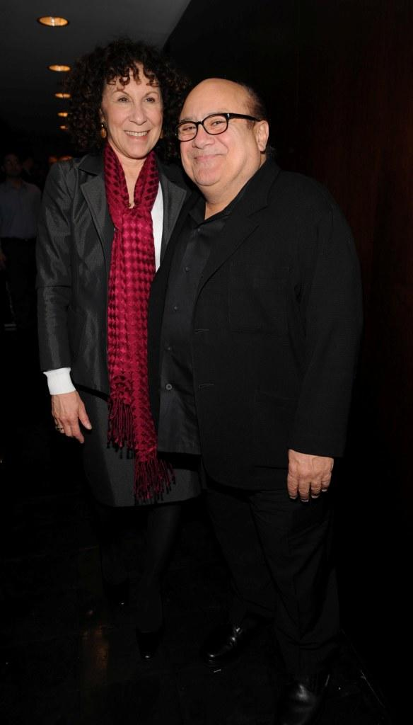 Rhea Perlman and Danny DeVito at the screening of