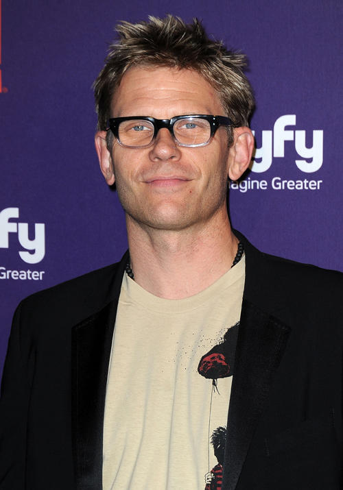 Mark Pellegrino at SyFy/E! Comic-Con party in California.