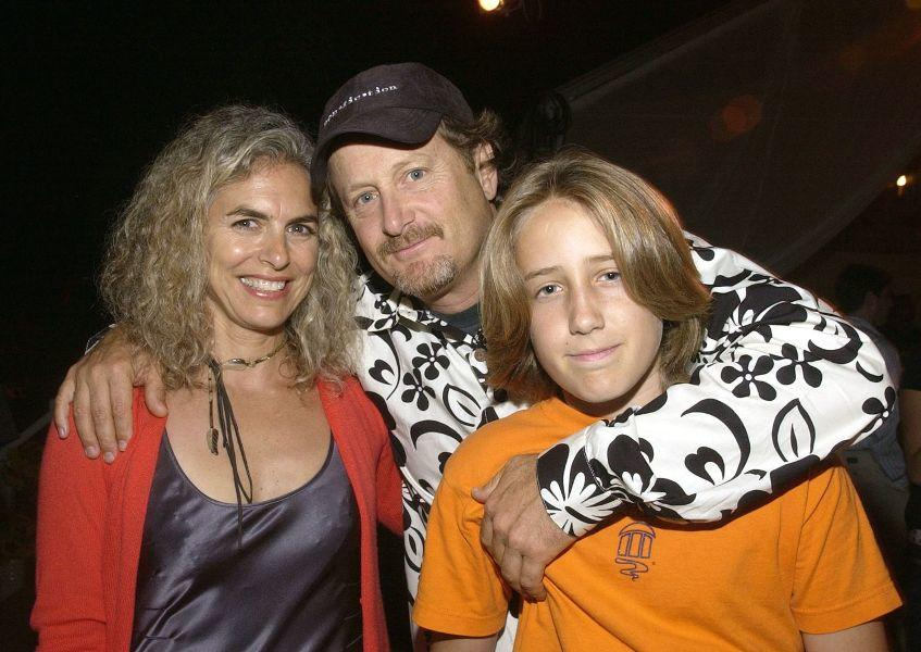 Stacy Peralta and his family at the after party of