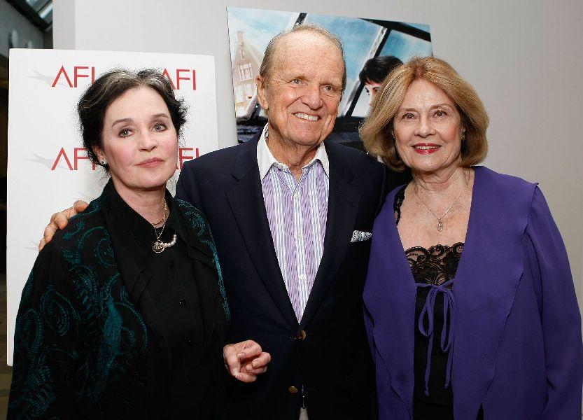 Millie Perkins, George Stevens Jr. and Diane Baker at the AFI Cinema's Legacy screening of