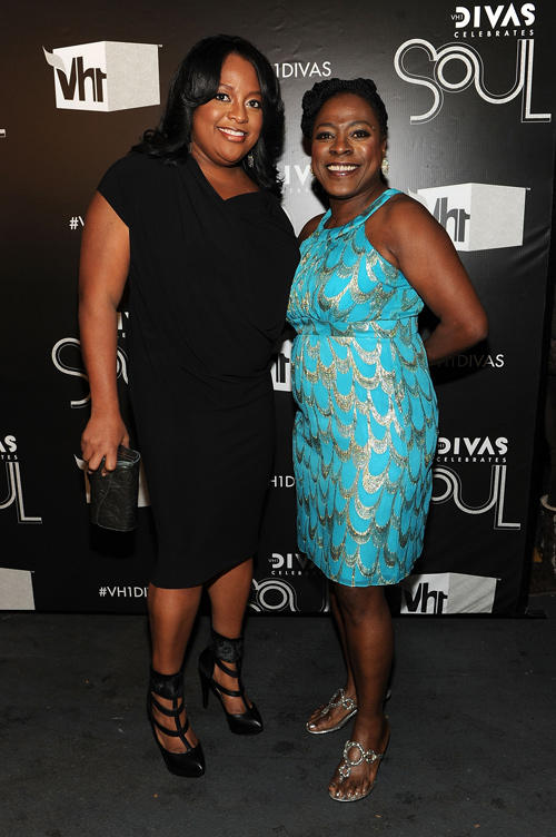 Sherri Shepherd and Sharon Jones at the VH1 Divas Celebrates Soul in New York.