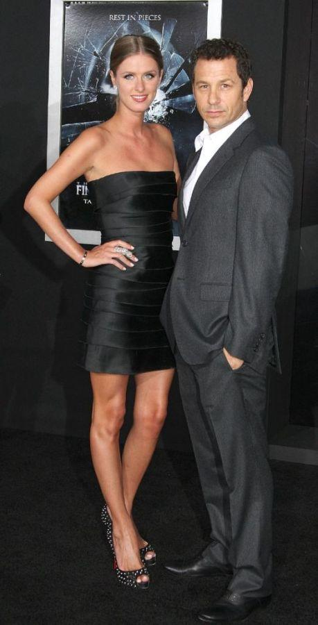 Nicky Hilton and Andrew Fiscella at the premiere of