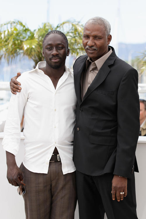 Diouc Koma and Youssouf Djaoro at the photocall of