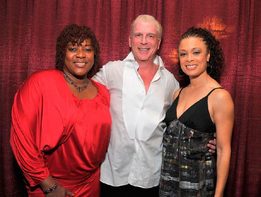 Loretta Devine, Ron Abel and Valarie Pettiford at the Actors Fund Musical Mondays.