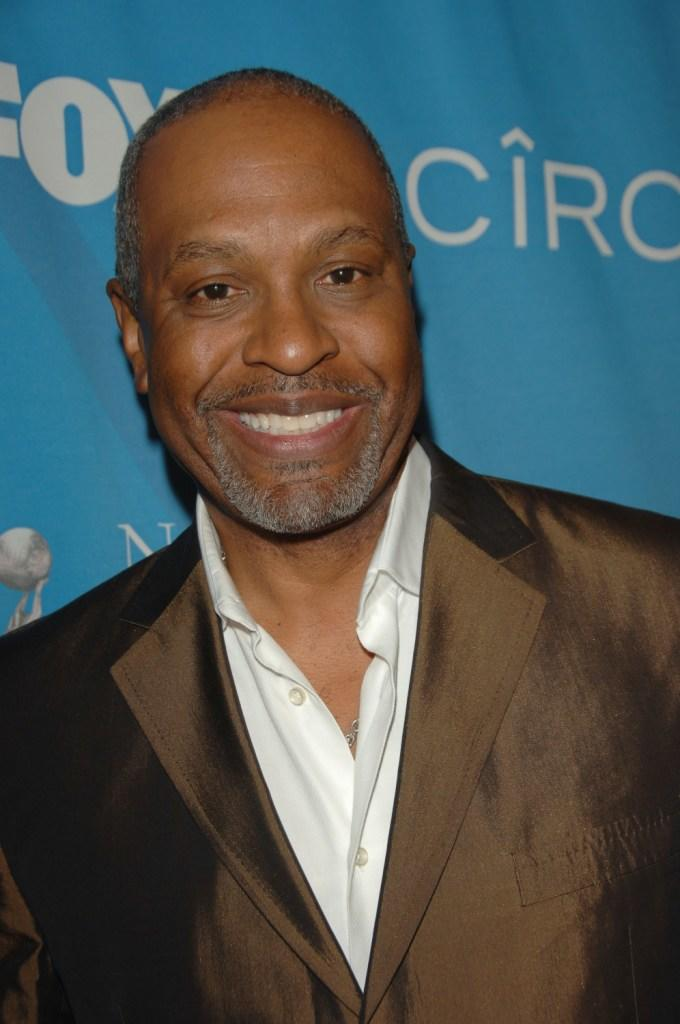 James Pickens, Jr. at the 38th NAACP Image Awards nominees luncheon.