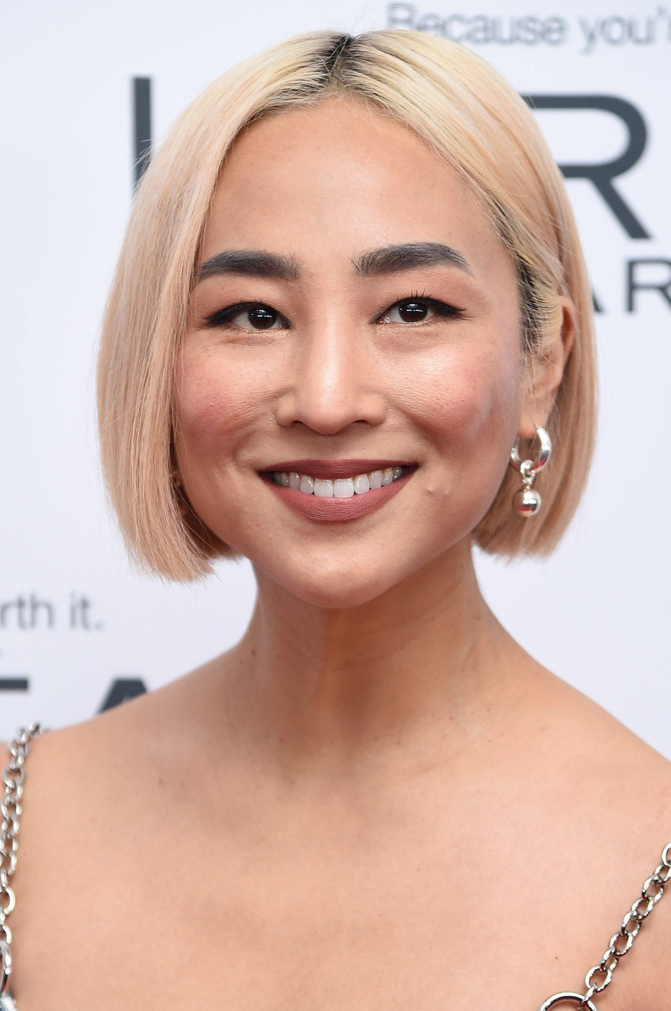 Greta Lee at Glamour's 2017 Women of the Year Awards in Brooklyn New York.