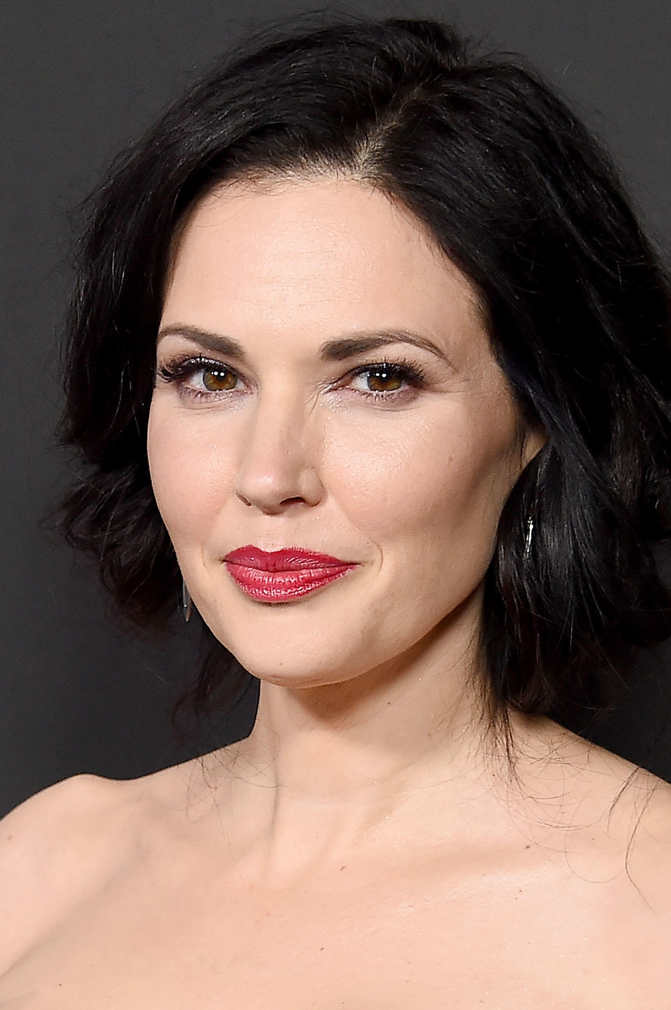 Laura Mennell at the premiere of History Channel's