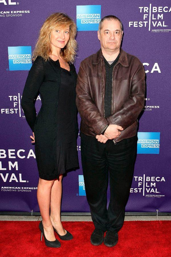 Julie Ferrier and Jean-Pierre Jeunet at the New York premiere of