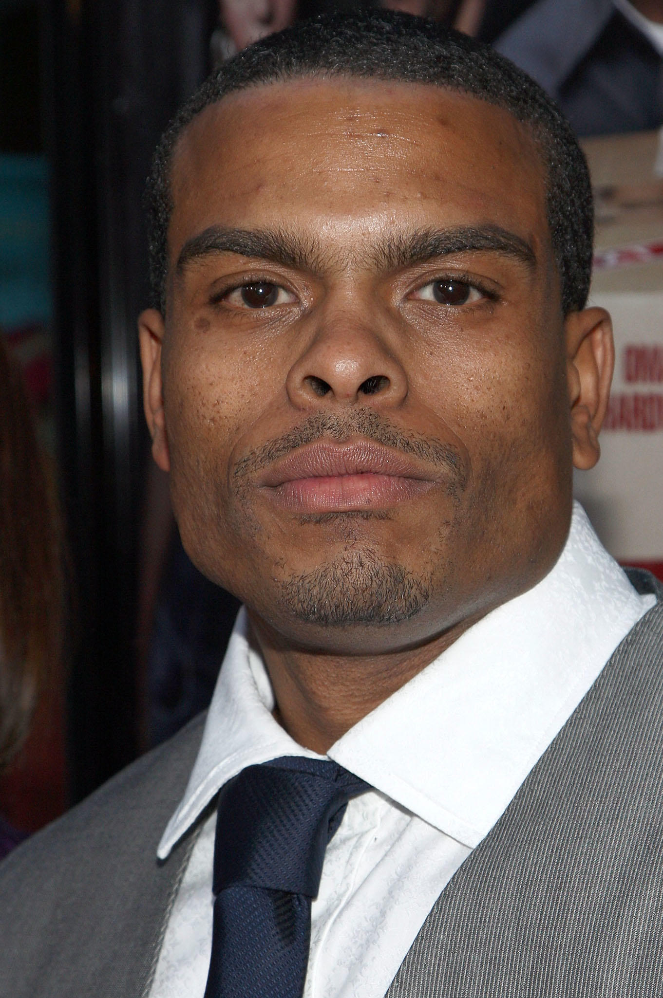 Benny Boom at the screening of