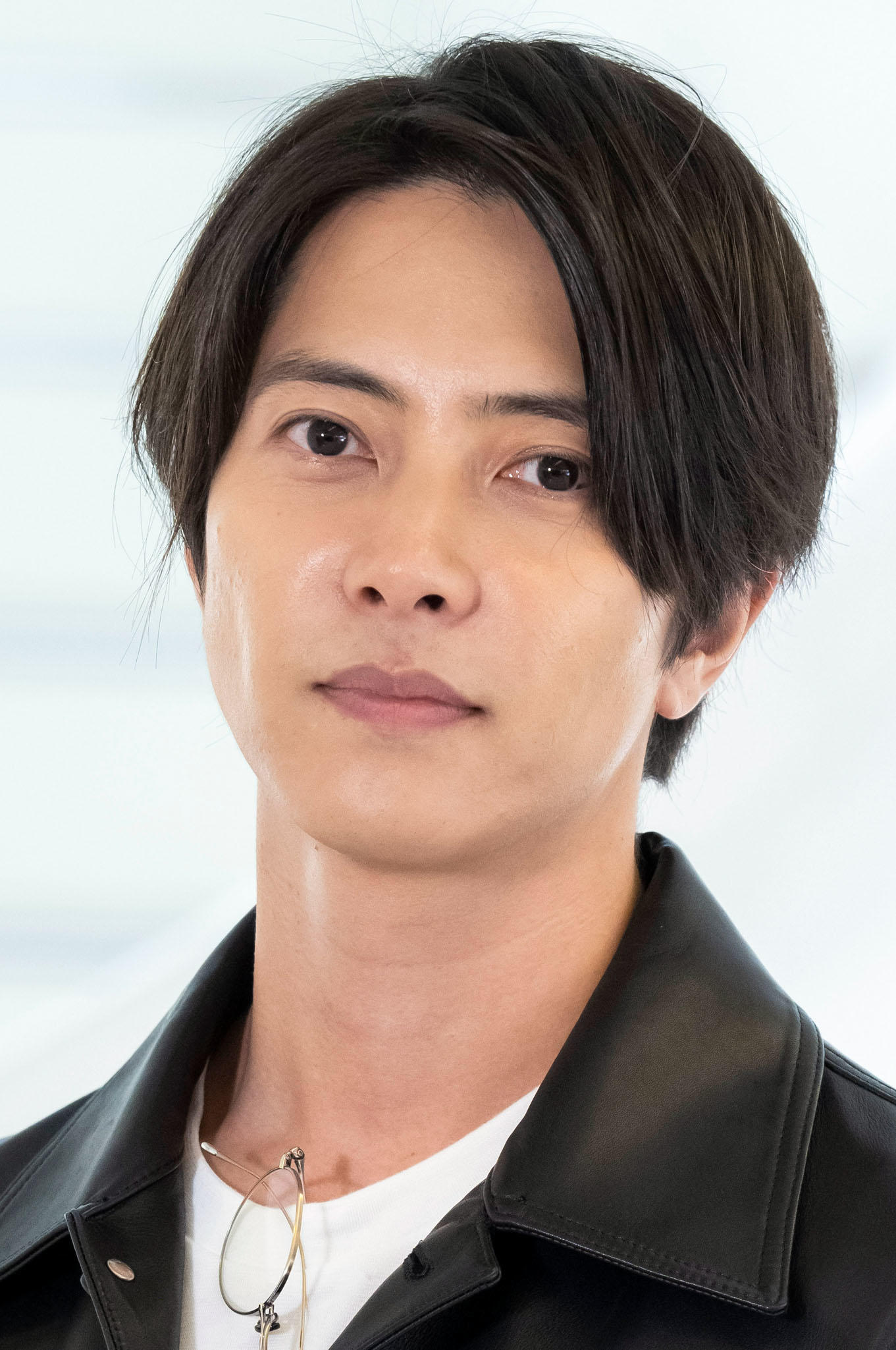 Tomohisa Yamashita at a photocall for the television series