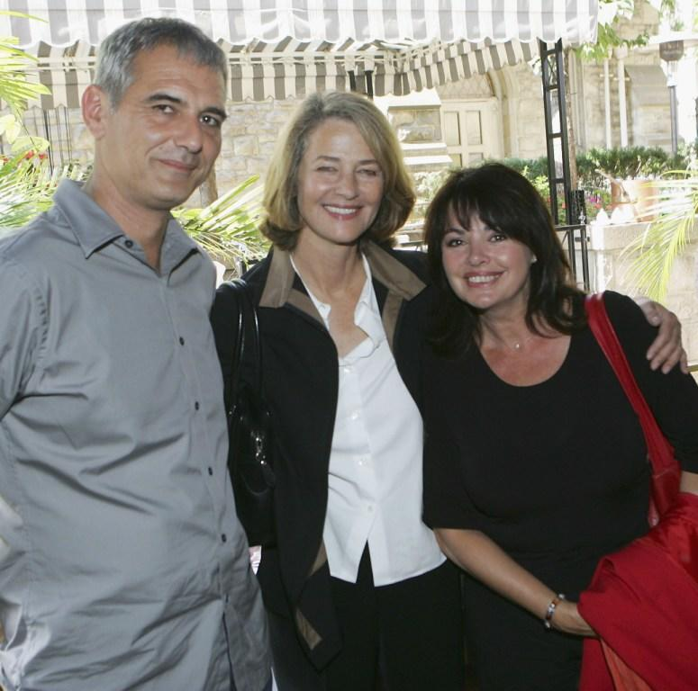 Director Laurent Cantet, Charlotte Rampling and Louise Portal at the Unifrance Press luncheon during the 30th Toronto International Film Festival.