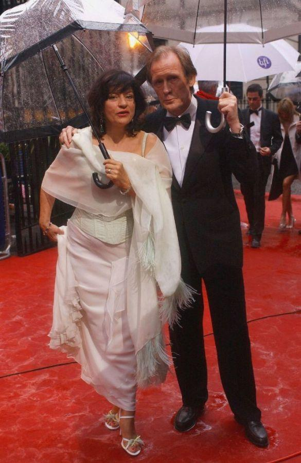 Diana Quick and Bill Nighy at the British Academy Television Awards.