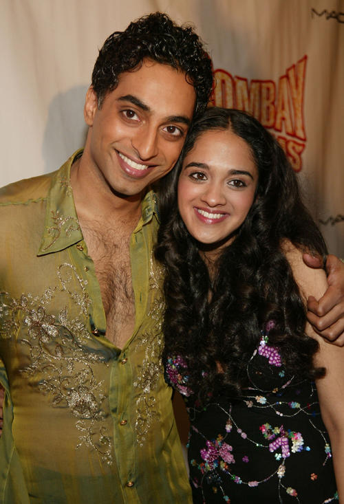 Manu Narayan and Anisha Nagarajan at the after party of the opening night of